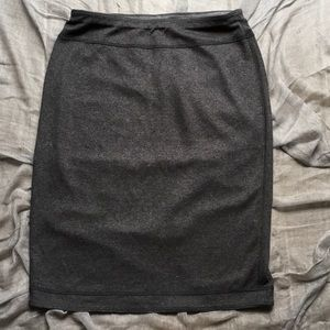 Eileen Fisher Reversible Stretch Pencil -Skirt